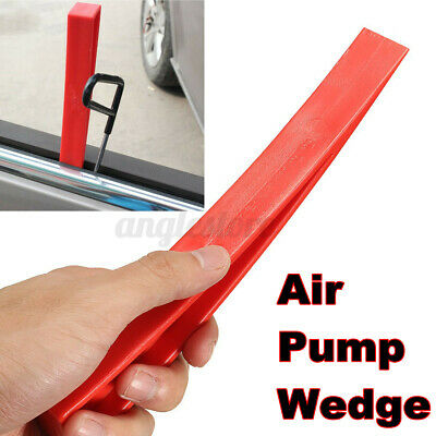 Universal Plastic Air Pump Wedge Car Window Doors Emergency Entry Tools Red