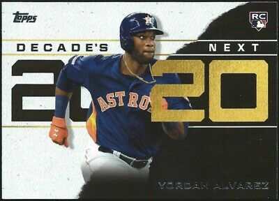 2020 Topps Series 1 2020 DECADE'S NEXT INSERTS..U Pick From List..PWE SHIPPING