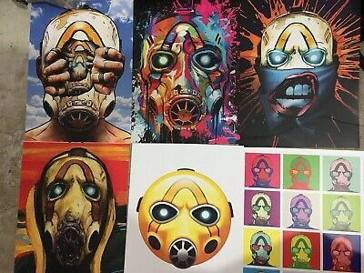 Pax East 2020 Borderlands 3 Poster Set SEALED