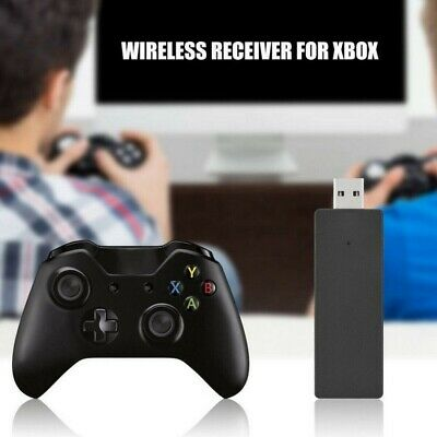 UK Wireless Controller Adapter For Microsoft Xbox One Windows PC USB Receiver