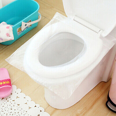 10/50/100X Disposable Paper Toilet Seat Cover Flushable Hygienic Health Camping