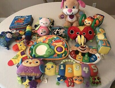 infant toddler toy lot developmental educational lot daycare preschool books