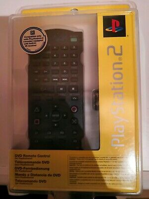 Official Sony Playstation 2 PS2 DVD Remote Control (SCPH-10420 E) - BRAND NEW