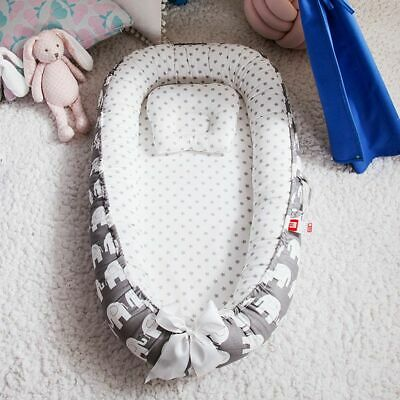 Removable Newborn Protector Cushion Infant  Crib Cradle Babies Cot Bassinet
