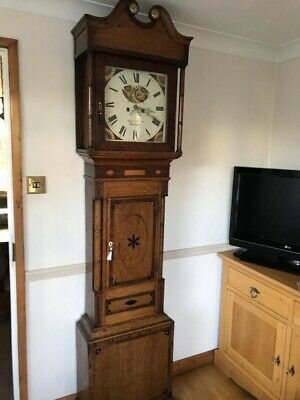 Stunning Moonroller Grandfather Clock Full Working Order