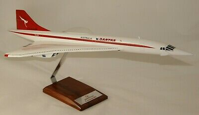 Qantas Airways Concorde  Huge 1:100 Handcrafted Desktop Model