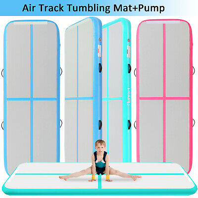 3-12m 20cm Air track Inflatable Mat Air Tumbling Track Floor Mat Gymnastics pump