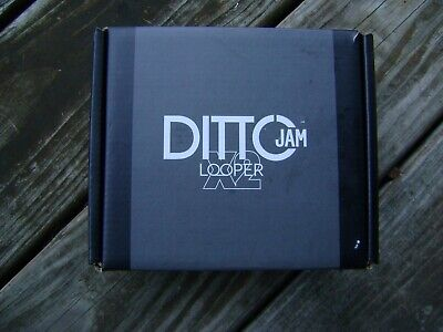 TC Electronic Ditto Jam X2 Looper Pedal Empty RETAIL BOX ONLY Microphone/Tags