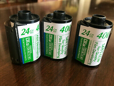 Lot Of 3 FUJI COLOR Superia X-TRA 24-Exposure 35mm Color Film 400 ISO