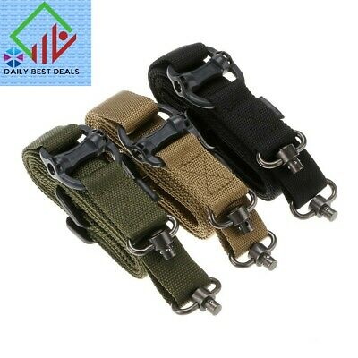 "Adjust Retro Tactical Quick Detach QD 1 | 2Point Multi Mission 1.2"" Rifle Sling"