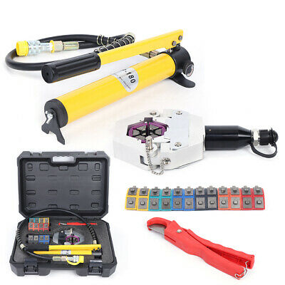 HYDRAULIC HOSE CRIMPER crimping Tool Kit Conditioner Automotive Repaire