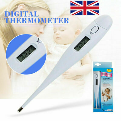 Adults Children Baby LCD Digital Medical Thermometer Fever Check Alarm Auto Off