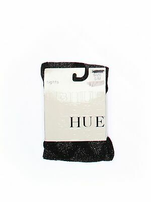 NWT Women/'s Hue Backseam Sheer Tights w// Detailed Sole Size M//L Cream  #730T