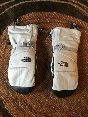The North Face Womens Montana Mitts Mittens Size L Heather Grey