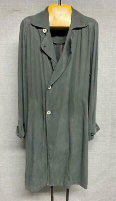 Beautiful Giorgio Armani Black Trench Coat Size 48 IT / 38 US / M Black Label