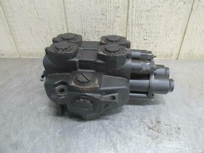 Parker 0605710 Hydraulic Directional Control Valve 2 Spool Commercial JA1125