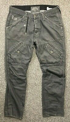 MENS G STAR GSTAR Raw Scuba Elwood Tapered Fit Jeans W33 L30