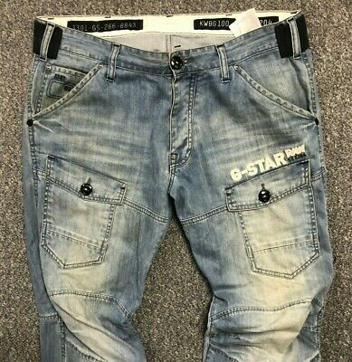 MENS G STAR GSTAR Raw Storm 5620 Loose Post Embro Fit Jeans