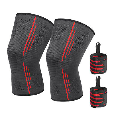 Knee Compression Sleeve Patella Support Brace for Joint Arthritis Pain Relief