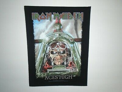 Iron Maiden Aces High Printed Back Patch