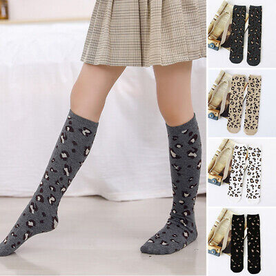 Children Girls socks Kids Toddlers Winter Stretchy Girls socks Girls Autumn