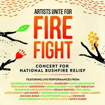 Various, Artists Unite For Fire Fight, CD