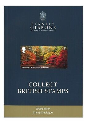 Stanley Gibbons Collect British Stamps Catalogue 2020 New Edition Full Colour