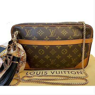 Certified Auth. Louis Vuitton Monogram Cross Body ~Us Seller