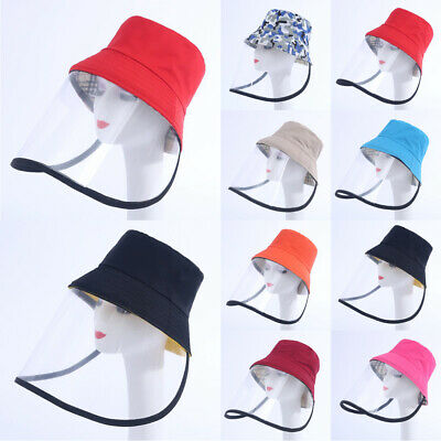 Protective Cover Cap Anti-Spitting Dustproof Face Shield Fisherman Hats Outdoor