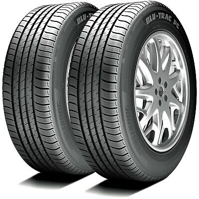 2 New Armstrong Blu-Trac PC 205//70R15 100H XL A//S All Season Tires