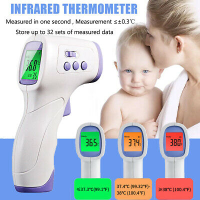 Medical Body Grade Non Contact Digital Infrared Temporal Forehead Thermometer