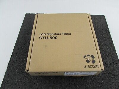 Wacom Stu-500 Lcd Signature Tablet