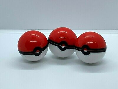 3 pieces 6ml Silicone Container Jar Non-Stick Pokeball Styled - MADE IN USA