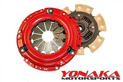 Yonaka Honda Civic Performance 6 Puck Stage 3 Clutch Set 400hp 300ft/lbs Torque