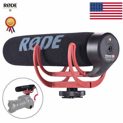 RODE Video Mic Directional Microphone On-Camera Mic for Canon Nikon Sony DSLR DV