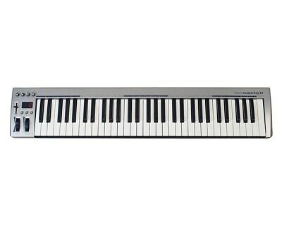 Acorn Masterkey 61 61-Key USB MIDI Keyboard Controller