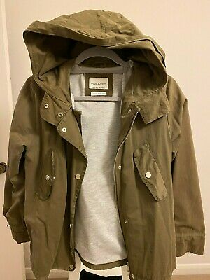 Zara Short Jacket- Khaki- Kids Girls 13-14 Years/ 164cm