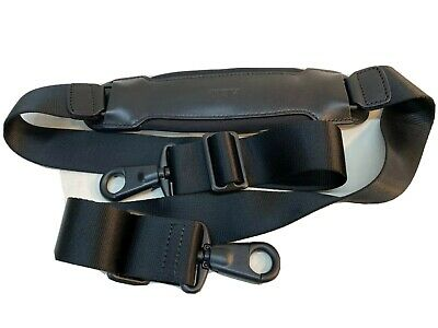 Tumi Leather Replacement Shoulder Strap for Luggage or Briefcases Black