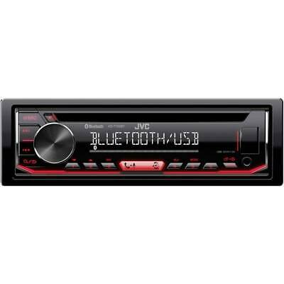JVC KD-T801BT 1-DIN Autoradio mit Bluetooth CD MP3 f/ür VW Polo 6R 2009-2014 schwarz