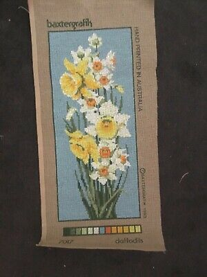 Baxtergraph Tapestry Canvas ONLY!!!! - Daffodils