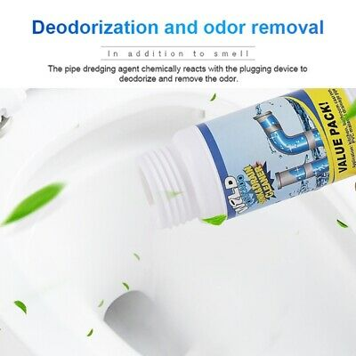 Non-corrosive Toilet Sink&Drain Cleaner Powder Cleaning Super Clog Home Cleaning