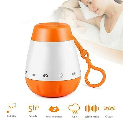 Baby Sleep Soother White Noise Sound Machine with 6 Soothing Sounds for Infan...