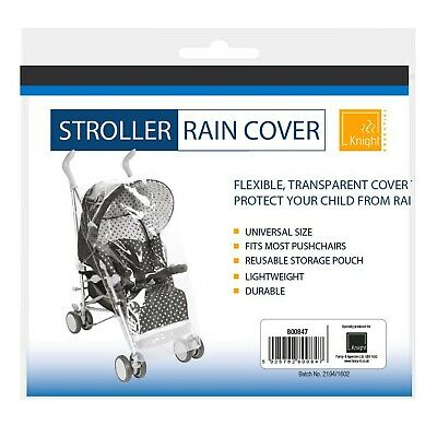 KNIGHT Rain Cover for Stroller Pushchair Buggy, Waterproof, Universal Size - ...