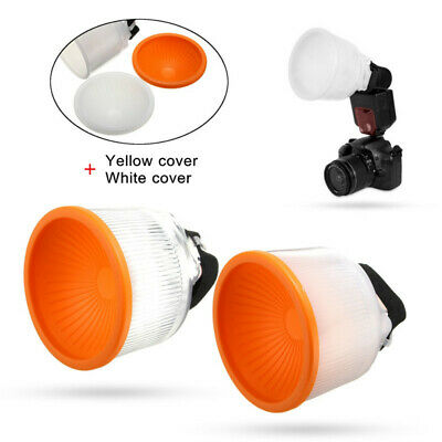 Universal Lambency Cloud Flash Speedlight Diffuser Reflector Dome Cover