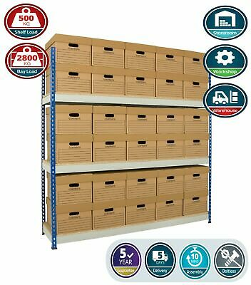 Anco Archive Shelving - 1525mm Wide