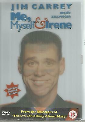 ME MYSELF & IRENE (DVD) Jim Carrey Renee Zellweger