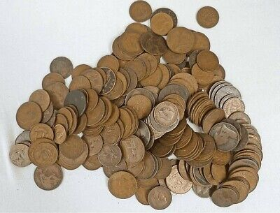 1914 To 1967 Old British Half Penny / Half Pennies Choice Of Year / Date