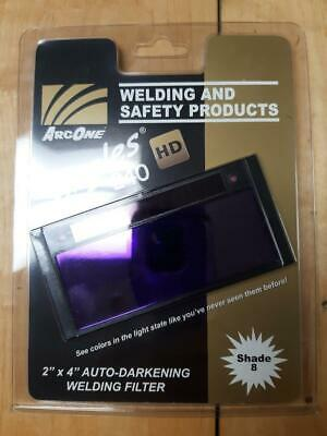Arc One Shade 8 Welding Lens Fixed Shade Auto Darkening Shade S240