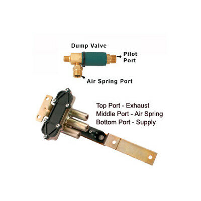 Type CR Controlled Response Height Control Valve with Dump Valve 90554897