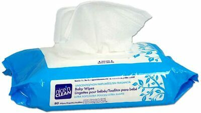 Baby Wipe Nice'n Clean-Soft Pack Aloe /Vitamin E/Chamomile Unscented,Case/ 960